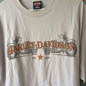 Vintage Harley Davidson Mens T shirt XL Crete  IL
